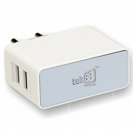 Tek88 Rapid-Charge 2-Port Wall Charger White.jpg