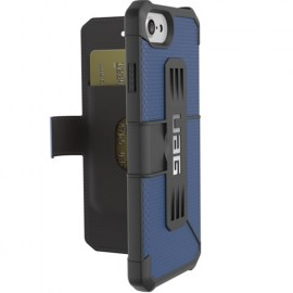 UAG Metropolis Folio Case For iPhone 7 Blue_Black_1.jpg
