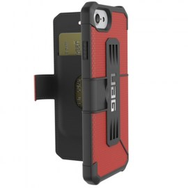 UAG Metropolis Folio Case For iPhone 7 Red_Black_1.jpg